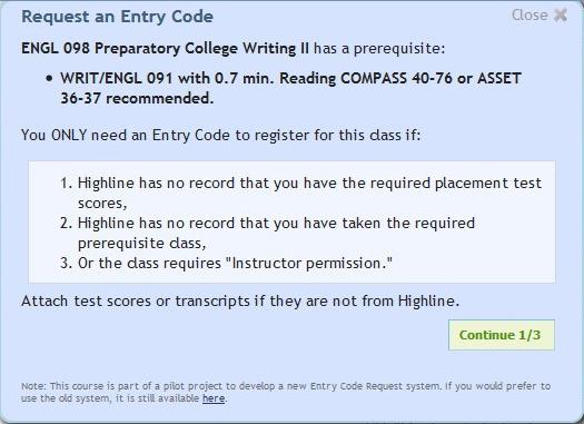 Entry Code 4