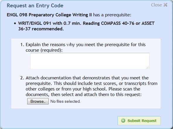 Entry Code 6